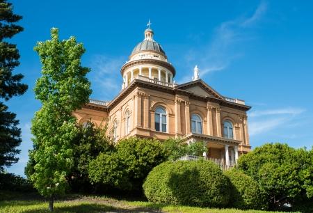 Historische Auburn Courthouse Lizenzfreie Bilder
