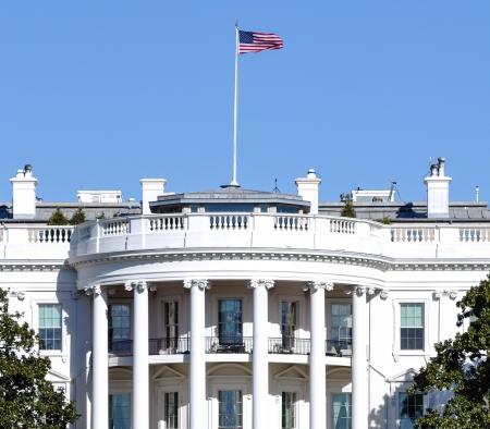 Das Weiße Haus in Washington DC Editorial