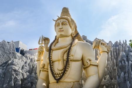 mano de dios: Shiva Indian Dios Foto de archivo