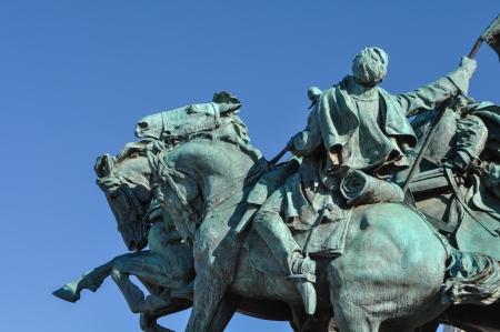 cavalry: Civil War Statue