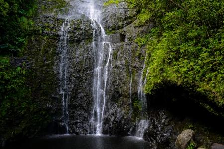 Waterfall in Hawaii Stock Photo - 17433704