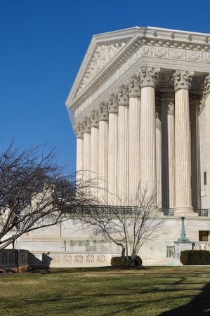 Supreme Court Building in the Winter Stock Photo - 17474062
