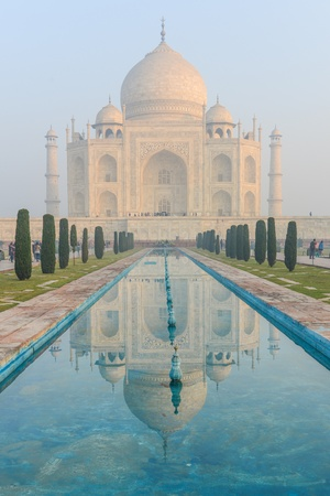 Taj Mahal in Agra India photo