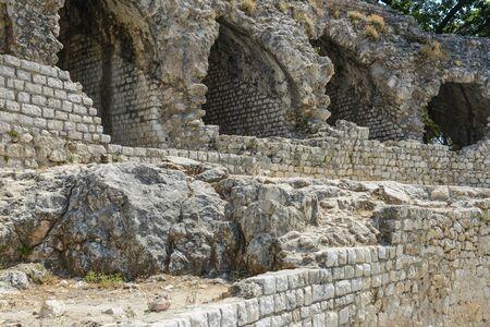 arenas: Cimiez Arenas Roman Ruin in Nice France