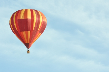 Orange Hot Air Balloon photo