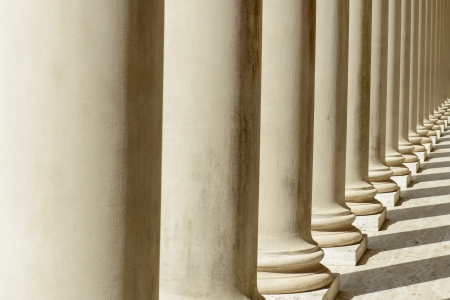 supreme court: Pillars in a Row