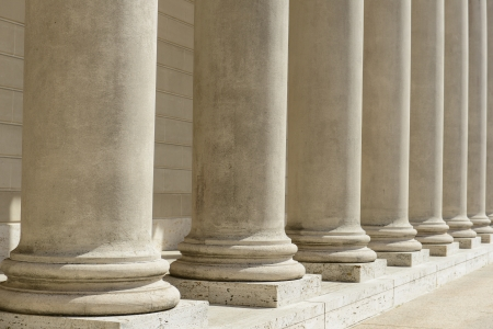 Stone Pillars in a Row photo