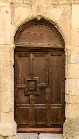 Rustic French Door Stock Photo - 17678787