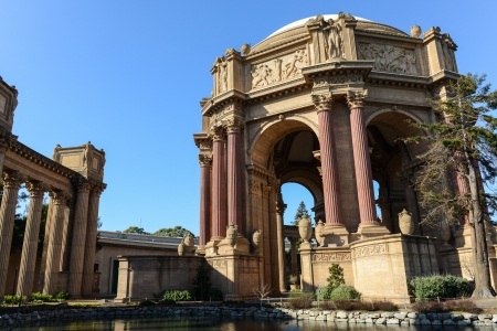 sf: Palace of Fine Arts in San Francisco California
