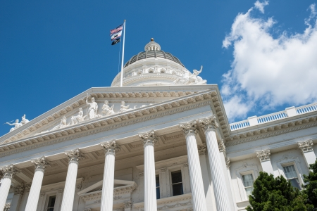 state election: Sacramento California State Capitol