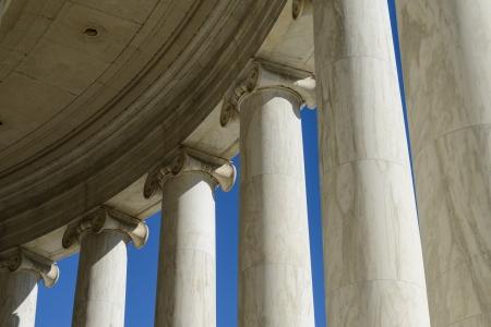 jefferson: Pillars at the Jefferson Memorial