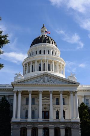 capital building: Sacramento Capitol Building