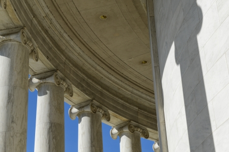 neo classical: Columns of Jefferson Memorial