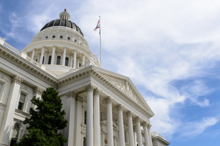 state government: Sacramento Capitol Building