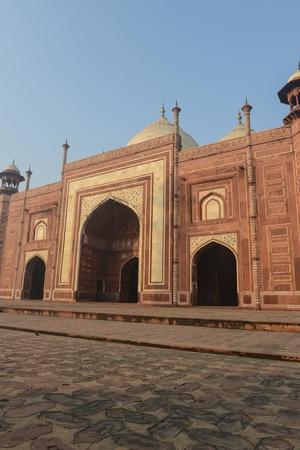 Mosque Taj Mahal India 版權商用圖片