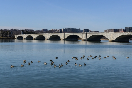 Memorial Bridge in Washington DC photo