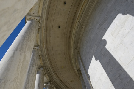 Pillars at the Jefferson Memorial photo