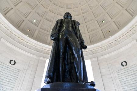 thomas: Thomas Jefferson Statue Stock Photo