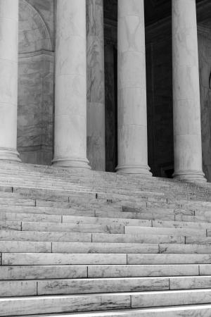 Pillars and Stairs photo