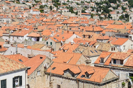Building Rooftops in Dubrovnik Croatia photo