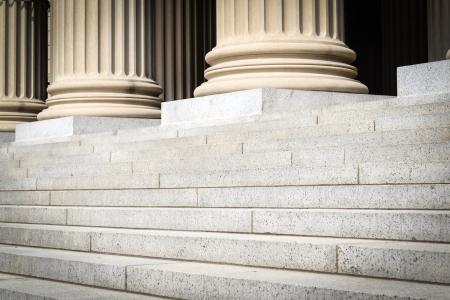 Pillars and Steps Standard-Bild