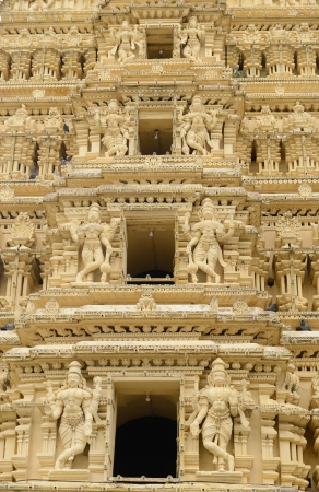 Close Up of Indian Temple photo