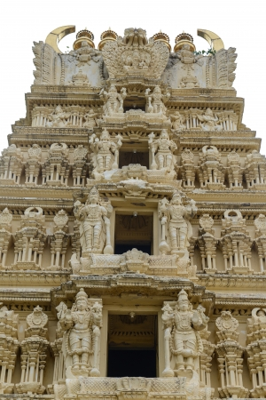 Indian Temple at Mysore Palace photo