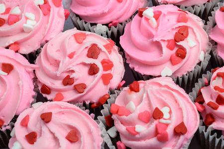 Pink Cupcakes Close Up photo