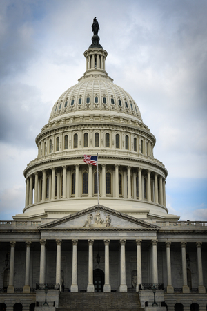 lobbyists: Capitol Hill in Washington DC Stock Photo