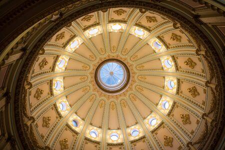 California State Capitol Interior of Rotunda