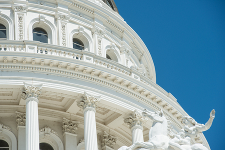 Sacramento Capitol Building in California 에디토리얼