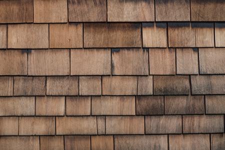 Shingle Aged Wooden Background photo