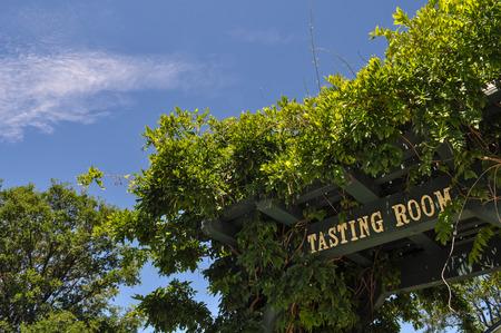 white zinfandel: Wine Tasting Room Sign