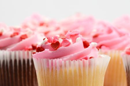 Birthday Party Cupcakes 免版税图像