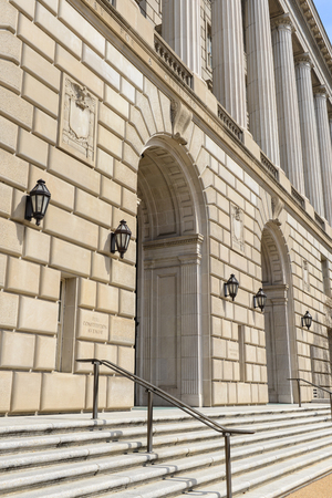 administrative buildings: IRS Building in Washington DC