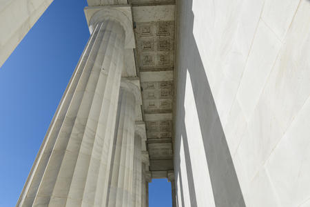 Stone Pillars at the Lincoln Memorial photo