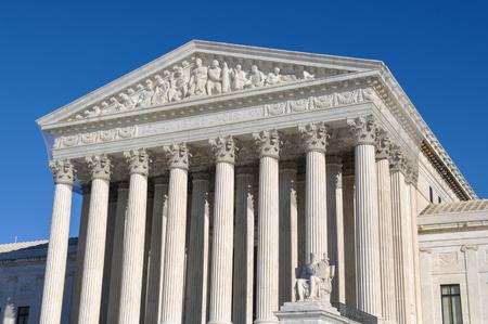 supreme court: Supreme Court Building in Washington DC