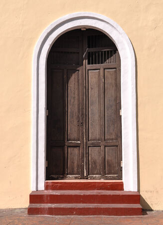 Old Brown Door photo