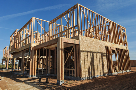 home construction: Home Under Construction