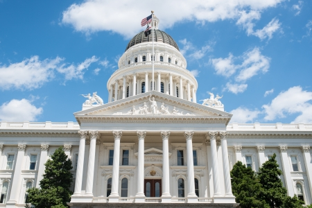 state government: California State Capitol in Sacramento