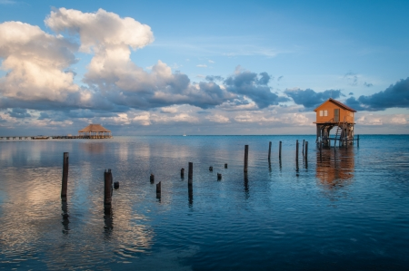 Home on the Ocean in Ambergris Caye Belize photo