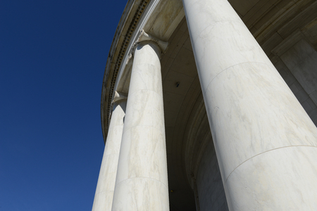 academia: Pillars at the Jefferson Memorial