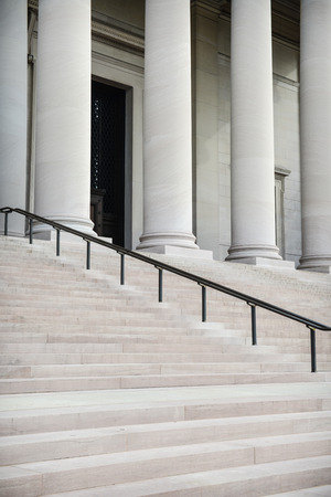 neo classical: Courthouse Pillars