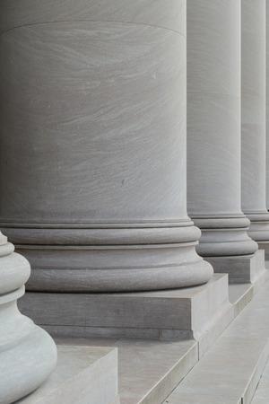 neo classical: Stone Columns