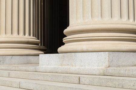 neo classical: Pillars Stock Photo