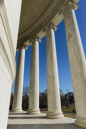 Jefferson Memorial en Washington DC Foto de archivo - 26137651