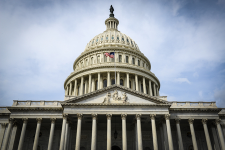 congressional: Capitol Hill Building Stock Photo