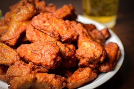 Beer and Buffalo Wings