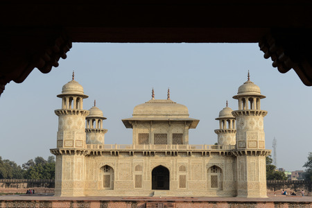 Itimad-ud-Daulah or Baby Taj in Agra India photo