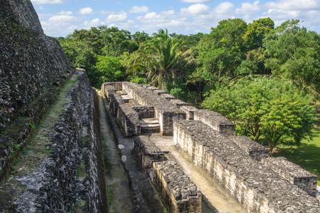 Xunantunich Mayan Ruin in Belize photo